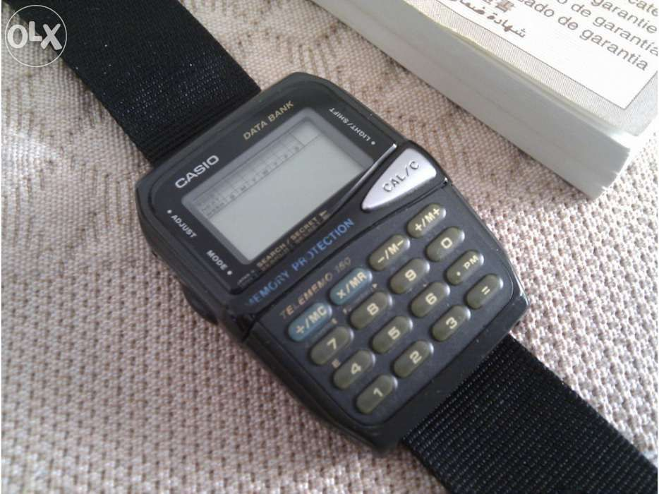 fb2bcddfbf3 Relógio com Calculadora da Casio DBM-150 - Vintage