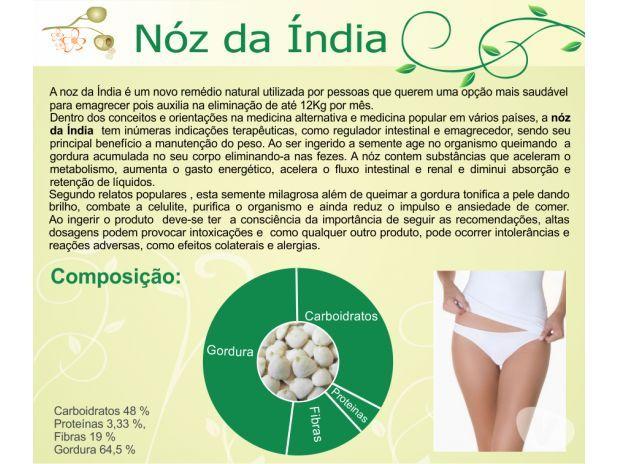 Emagreça com Saúde Noz da Índia