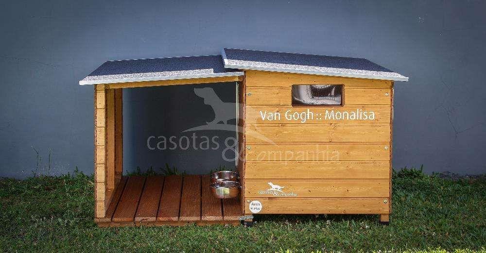 Casotas&Companhia! - Casota em Madeira Mod. Ares M Plus (Novidade)