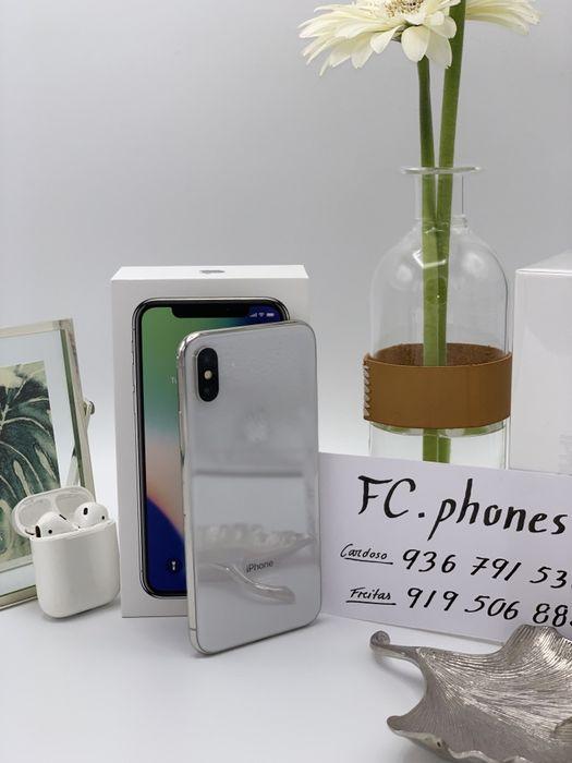 IPhone X Silver 64GB IMACULADO - Factura e Garantia
