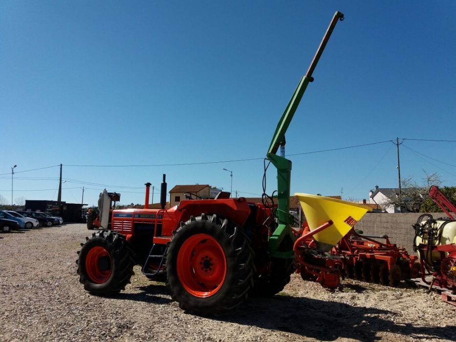 Grua hidraulica telescópica p/tractor agricola