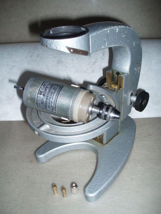 Штатив микроскопа МБР-1. Почти сверлильный станок
