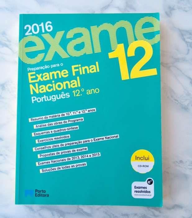 Livro Exame Nacional Portugues 12º ano