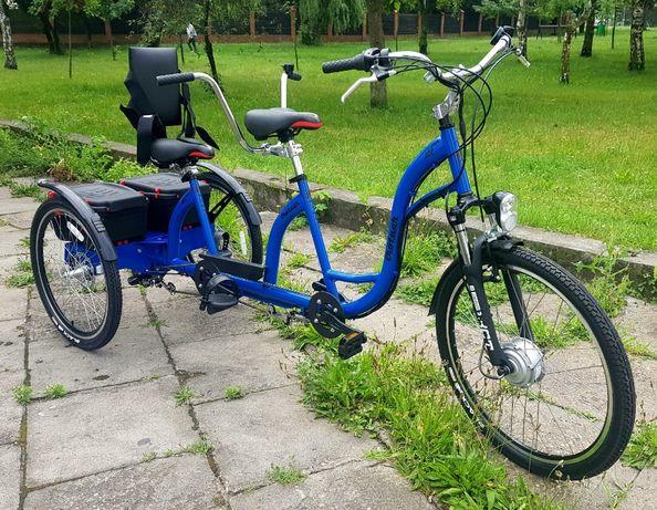 Rower Trójkołowy Elektryczny Dwuosobowy Duet Tandem Producent Polska Bydgoszcz Olx Pl