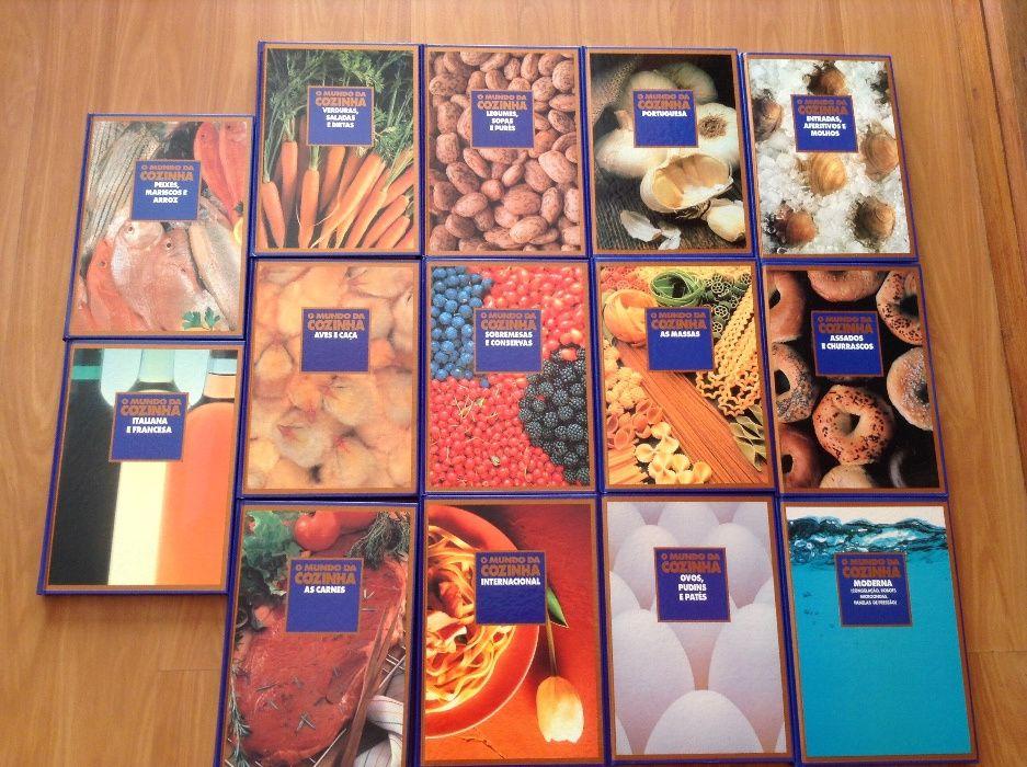 14 livros culinária O mundo da cozinha (por estrear, óptimos p/oferta)