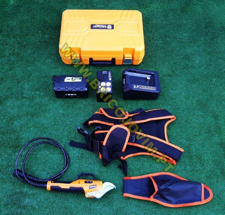 Tesoura Poda Eléctrica Bateria - Bateria 4Ah/56V - Uso Intensivo NOVAS Gondomar - imagem 4