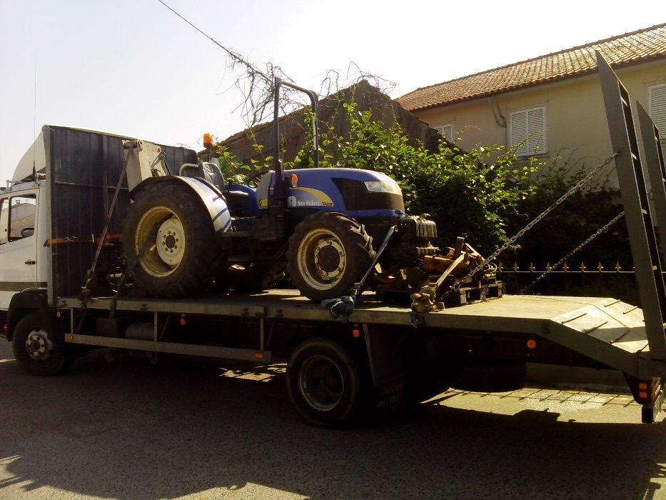 Transporte de tratores, alfaias agricolas e maquinas Coimbra - imagem 6