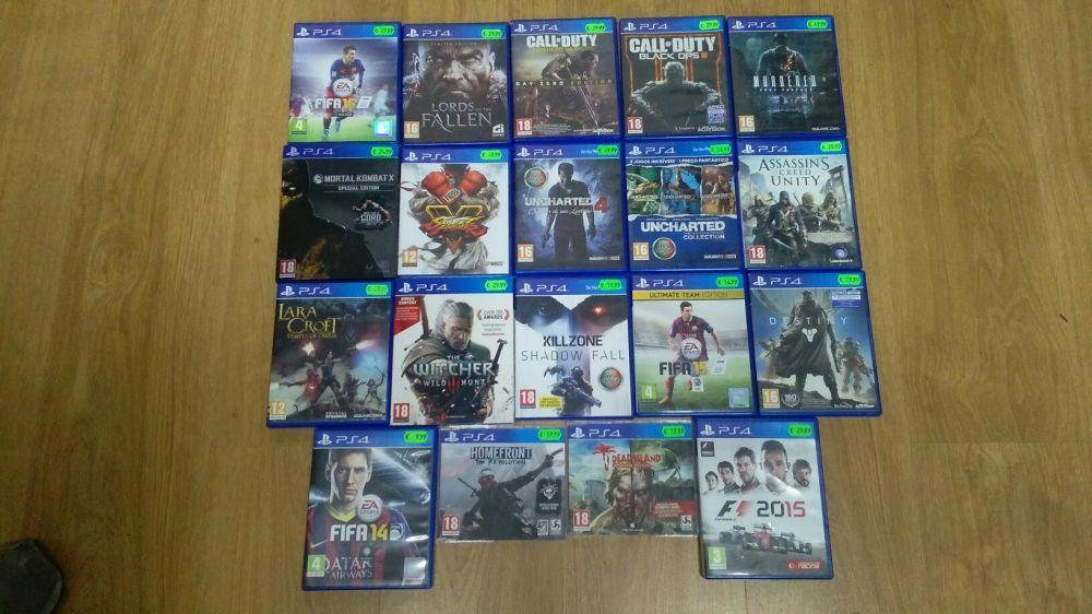 Vendo Jogos PS4 - Separadamente ou Pack Completo