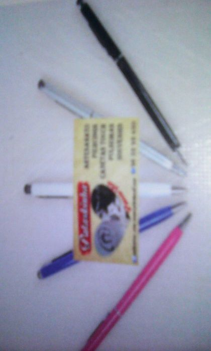 Caneta touch 2 em 1 caneta universal