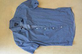 Koszula męska slim fit H&M krótki rękaw S Częstochowa  xX6QD