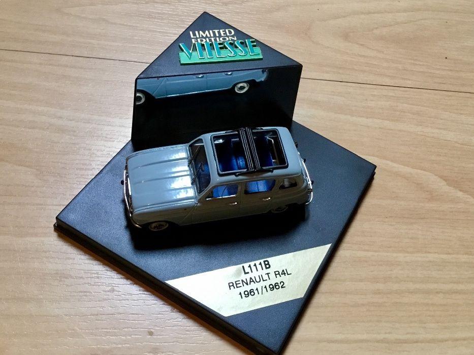 Miniatura da Vitesse Renault 4 edição limitada