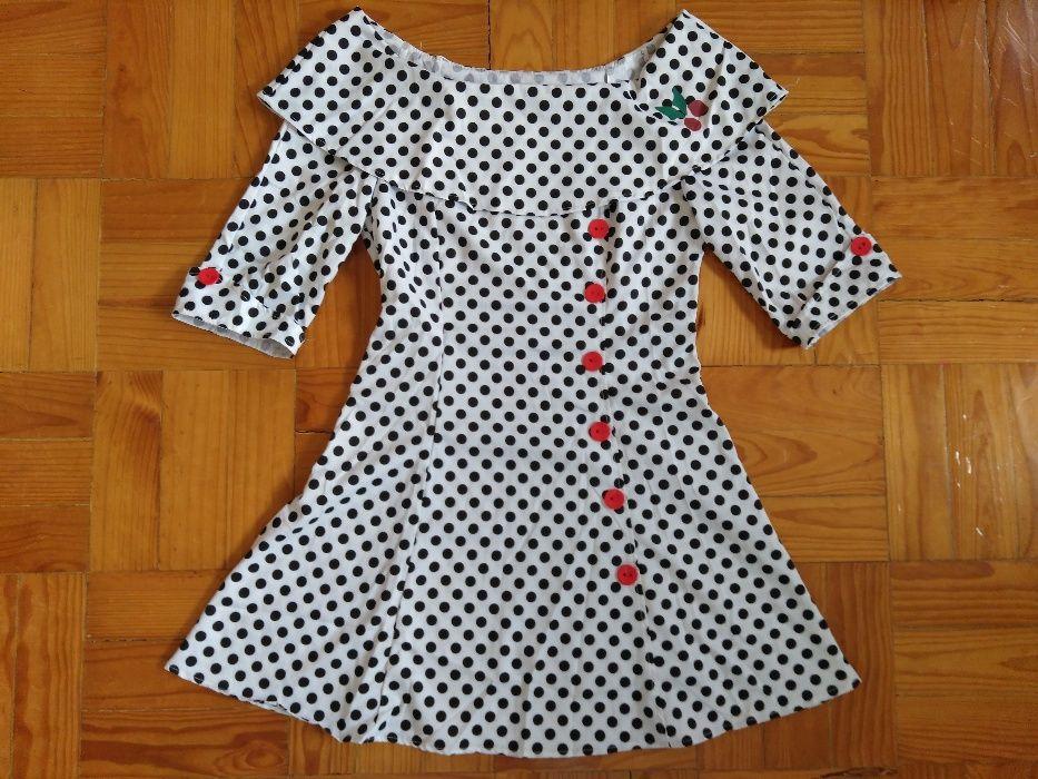 Bonito Vestido Vintage - NOVO!