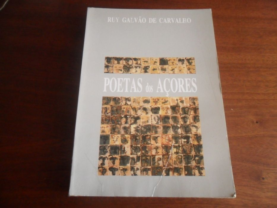 """""""Poetas dos Açores"""" de Ruy Galvão de Carvalho"""