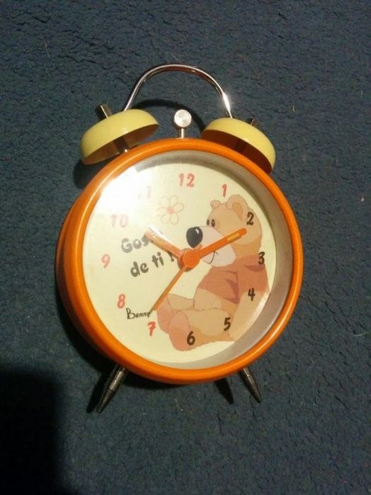 7da5d790515 Relógio Despertador namorados benny - Paranhos - Relógio Despertador para  namorados. Novo em caixa.