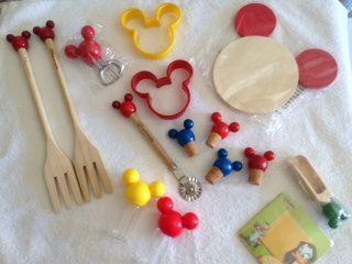 Conjunto Utensílios Cozinha Disney