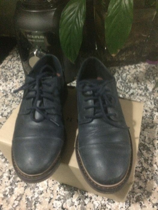 Sapatos em pele Zara