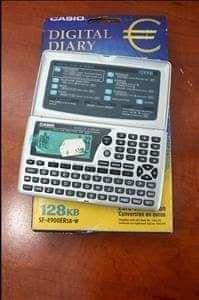 Casio - Diário digital 128 k