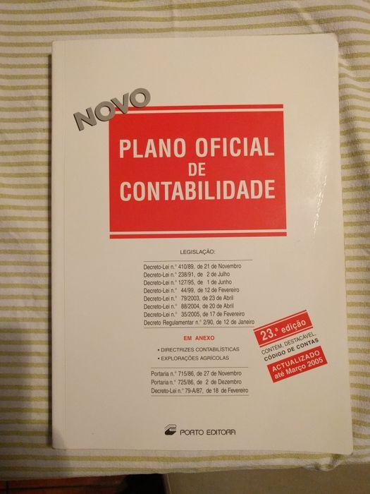 Livro Plano Oficial de Contabilidade