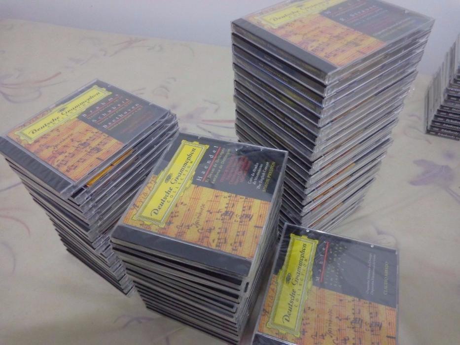 Coleção da História da Música + 101 CDs da «Deutsche Grammophon» Caldas da Rainha - imagem 6