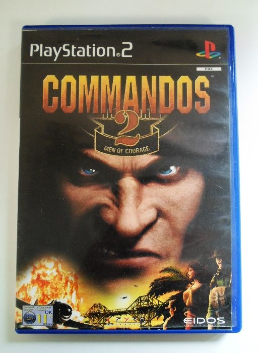 Jogo PlayStation 2 - Commandos 2 - Men Of Courage