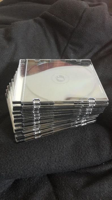 20 Caixas finas para CDs