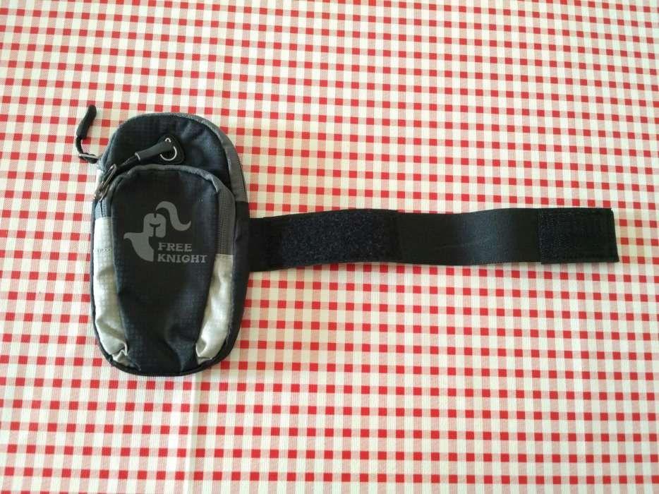 Bolsa para telemóvel durante a corrida