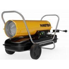Aquecedor MASTER a gasóleo, a combustão directa B100