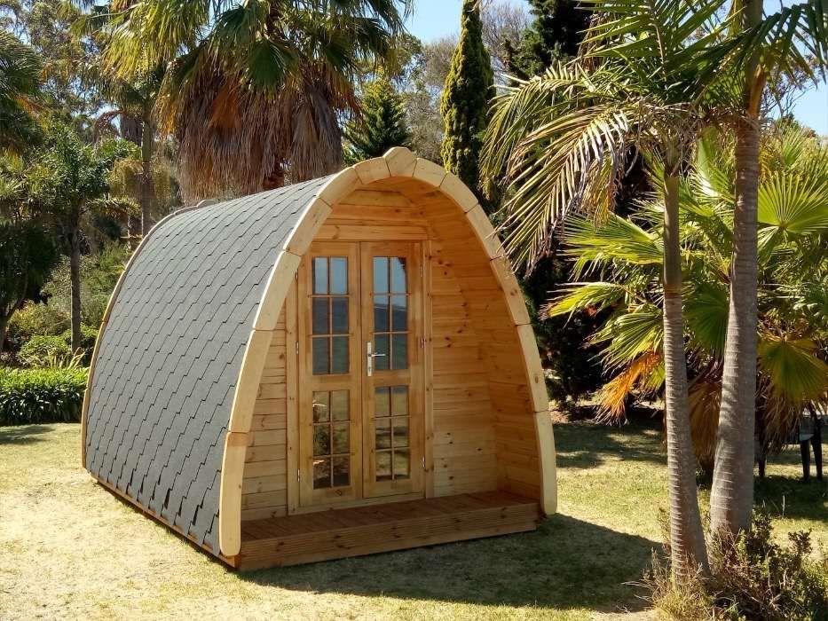 Bungalow - Abrigo de Madeira (2,4mx3,5m) - 100% Pinho Nórdico Maciço