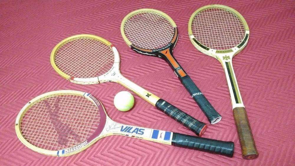 4 Raquetes de Ténis - Vintage