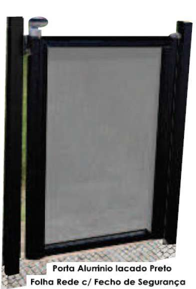 Proteção Segurança vedação exterior com porta cascais piscinas e spas Cascais E Estoril - imagem 5