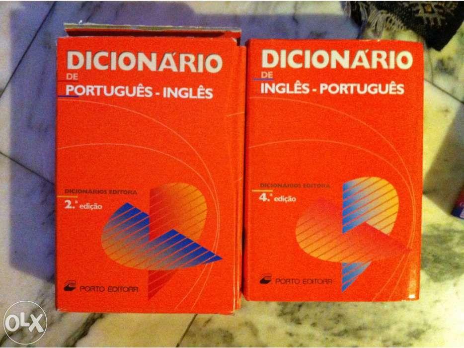 Dicionários Português/Inglês e Inglês/Português - Armação de Pera