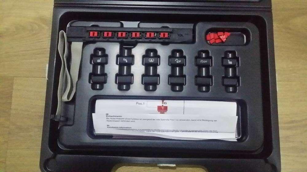 Kit botões originais Bmw