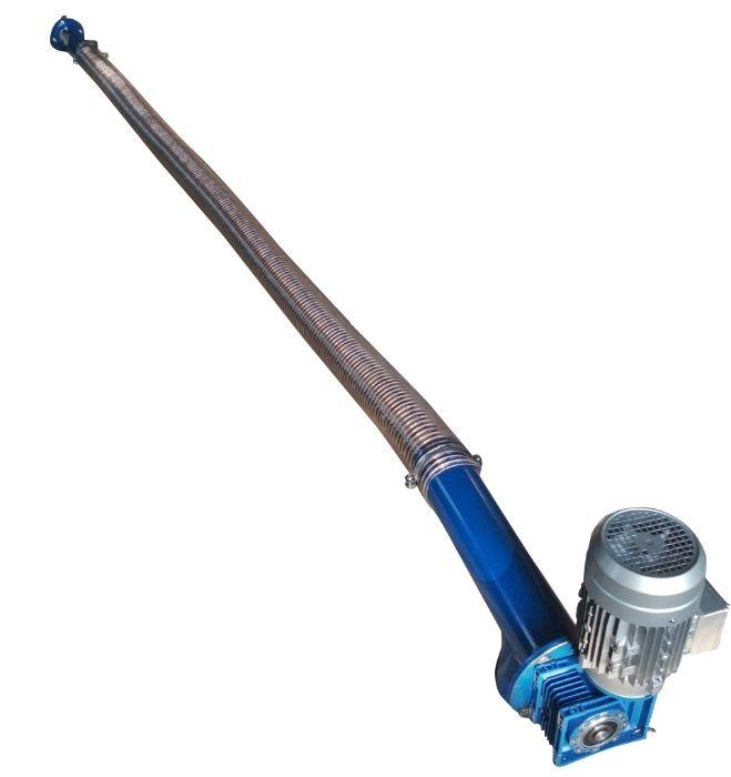 Шнековый транспортер для муки тип роликовых конвейеров