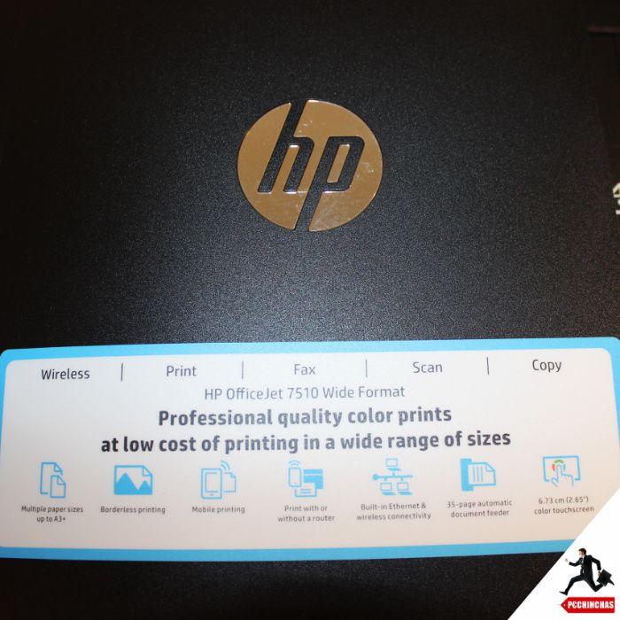 Impressora Hp Officejet 7510 Avariada Ideal Para Peças Cartuchos