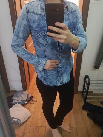 Koszula Jeansowa Moda OLX.pl  D1wOW