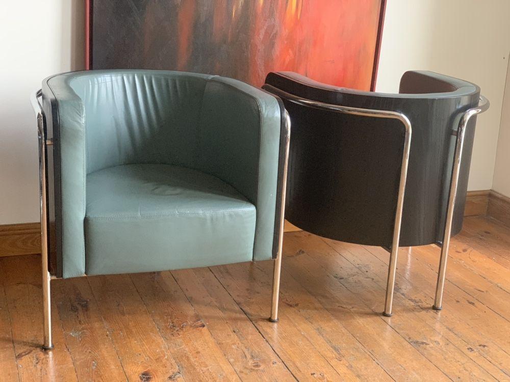 Thonet S3001 Christoph Zschocke para foteli plus stolik
