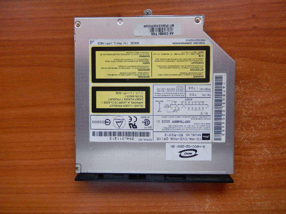DRIVER FOR TOSHIBA SD-R2312