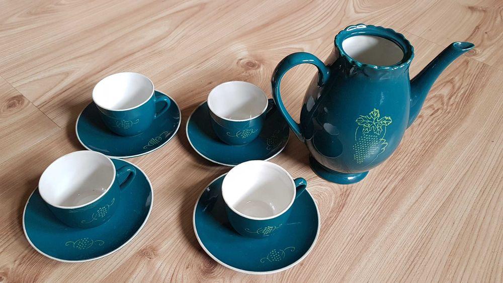 Zestaw Do Herbaty Koreańska Porcelana Dprk łódź Widzew Olx Pl