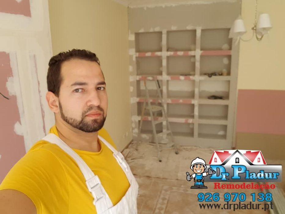Remodelação, Montagem Moveis Cozinha Casa de Banho, Pintura , Pladur