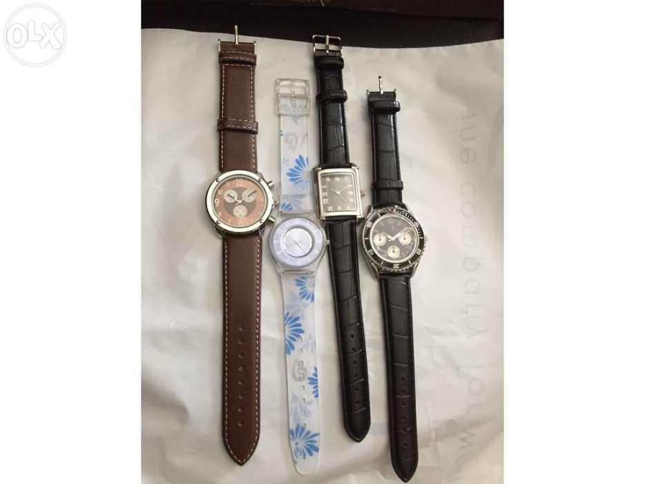 18b26c1861d Relógios novos de homem e senhora