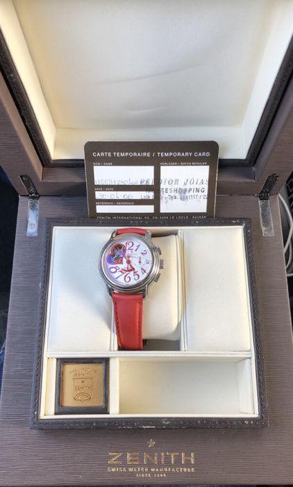 Relógio Zenith senhora Coronado (São Romão E São Mamede) - imagem 1