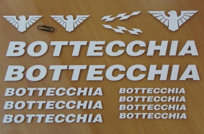 Bottecchia kit autocolantes bicicleta