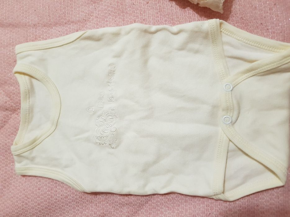 Vestido para batizado T6 meses Vila do Conde - imagem 2