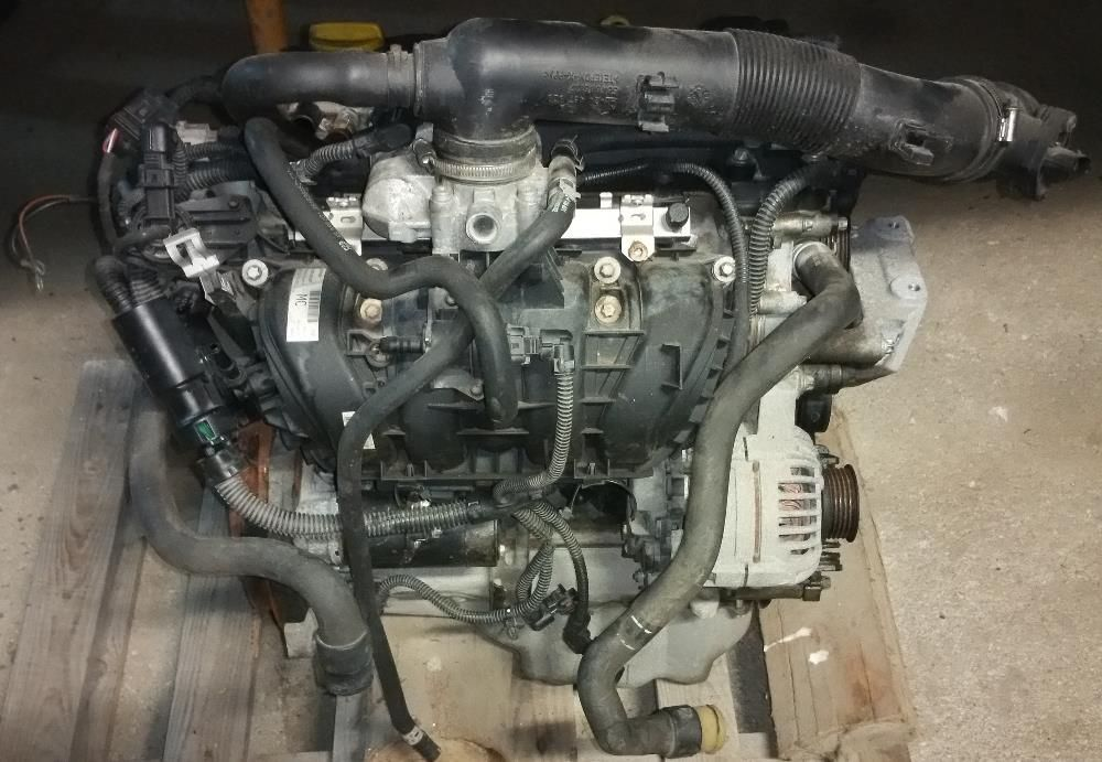 Motor Opel Corsa Z12XEP Twinport 80CV (avariado) para peças. Aveiro - imagem 3