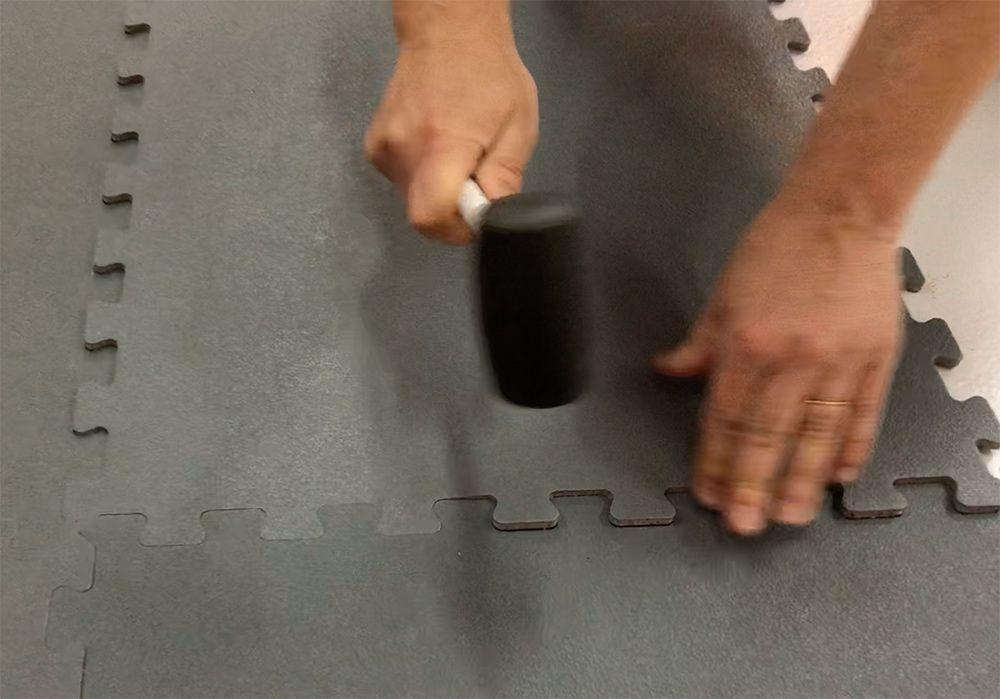 PlacaFlex, Pavimentos em PVC de encaixes rápidos Coruche - imagem 2