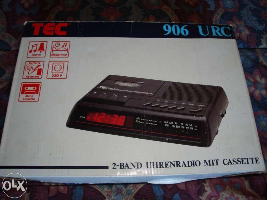 Rádio despertador tec