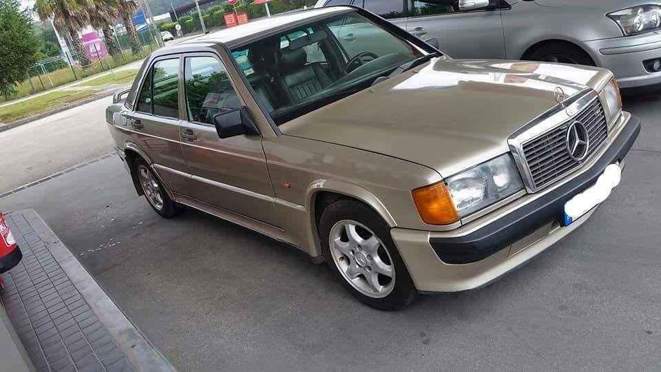 Mercedes 190 w201 completo para venda as peças
