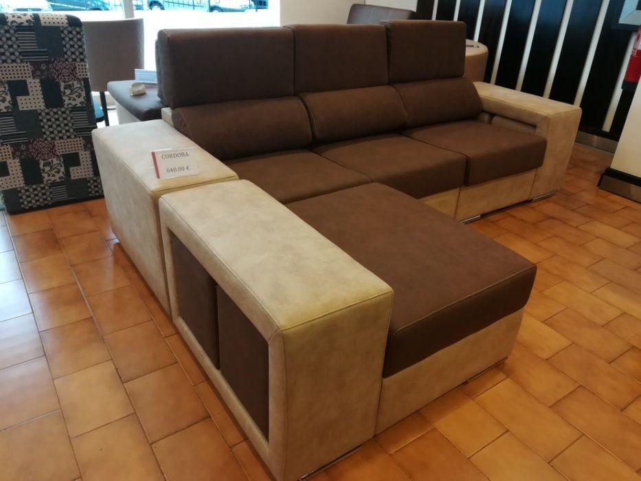 Sofá Cordoba com 270 cm, novo de fábrica chaise longue reversível Malveira E São Miguel De Alcainça - imagem 6
