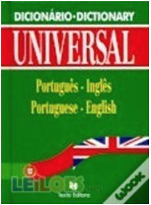 Dicionário Português - Inglês (Escolar) da Texto Editora - NOVO