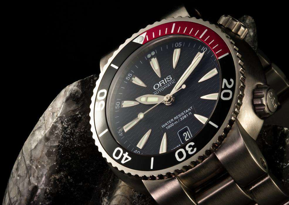 244b1b5375e ORIS SEAMASTER automatic 1000m Titanium